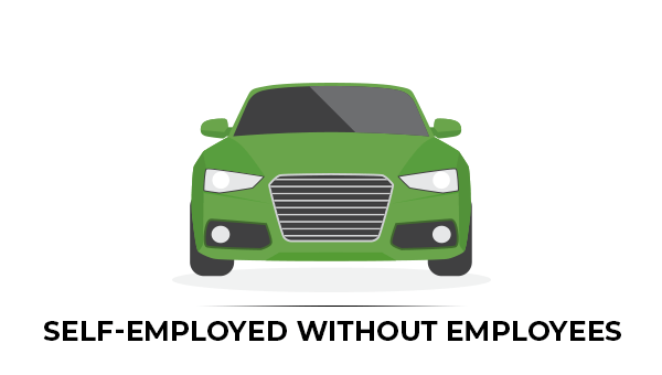 Self-employed without employees